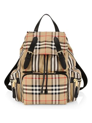 Burberry medium heritage check rucksack