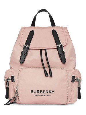 Burberry Medium logo nylon backpack