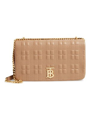Burberry medium lola tb quilted leather shoulder bag