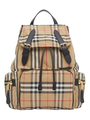 Burberry medium rucksack vintage check backpack