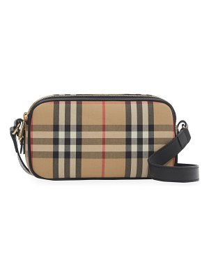Burberry mini vintage check camera bag