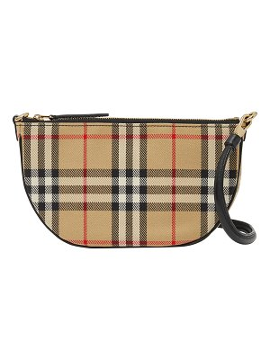 Burberry Olympia Vintage Check Pouch Shoulder Bag