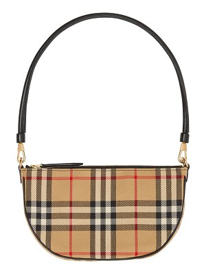 Burberry Olympia Vintage Check Slim Pouch Shoulder Bag