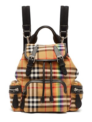 Burberry Rainbow Vintage-check small backpack