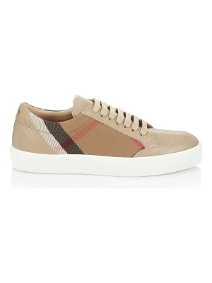 Burberry salmond vintage check sneakers