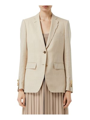Burberry skirted jacket