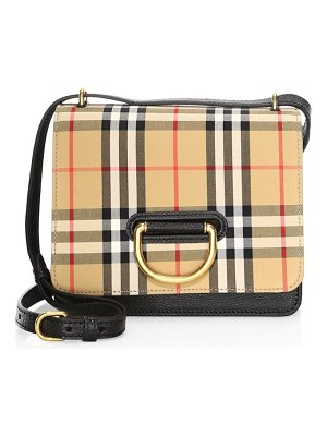Burberry small d-ring leather crossbody bag