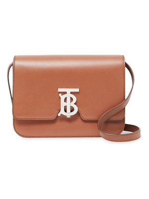 Burberry small leather tb shoulder bag