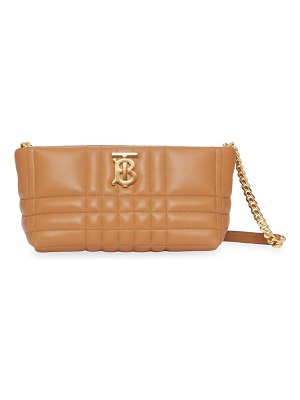 Burberry small lola quilted leather shoulder bag