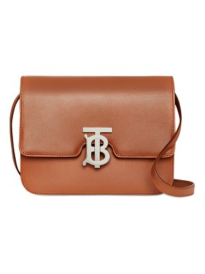 Burberry Small tb leather shoulder bag