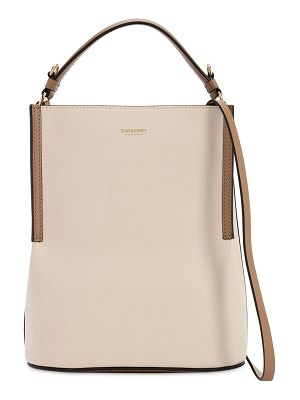 Burberry Smooth leather bucket bag