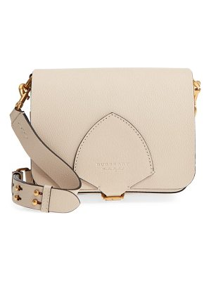 Burberry square leather shoulder bag