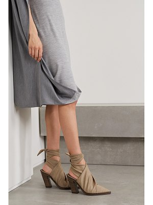 Burberry stretch-jersey pumps