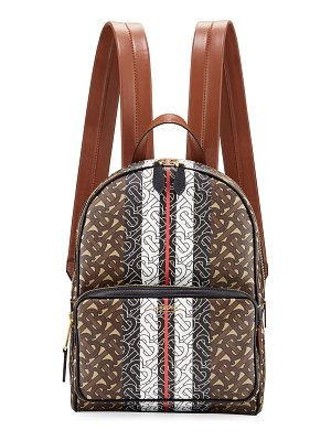 Burberry TB Monogram Canvas Backpack