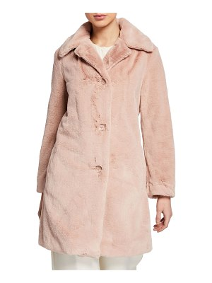 Burberry Tenbridge Faux-Fur Coat