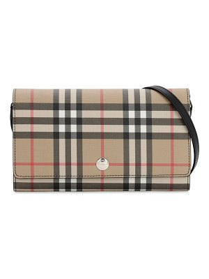 Burberry Vintage check wallet shoulder bag