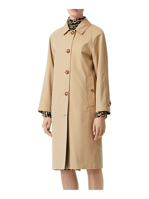 Burberry walterstone cotton car coat