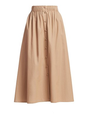 By Any Other Name cotton twill tea skirt