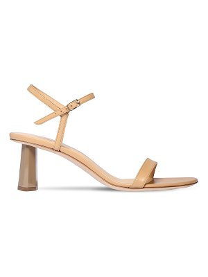 by FAR 55mm magnolia leather sandals