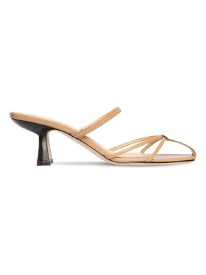 by FAR 70mm edita leather sandals