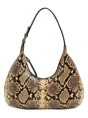 by FAR Baby amber snake print leather bag