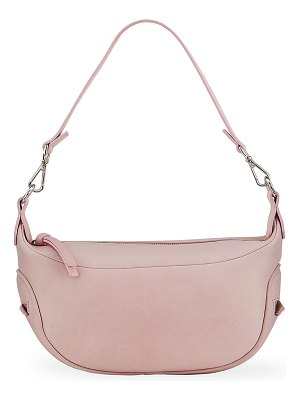 by FAR Cush Peony Leather Shoulder Bag
