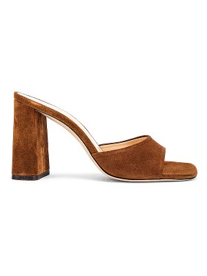 by FAR juju suede leather sandal