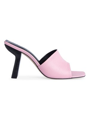 by FAR liliana leather mules