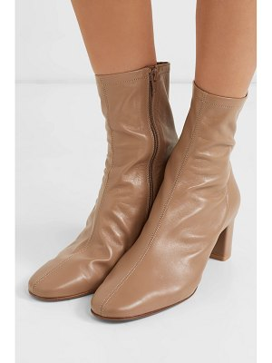 by FAR sofia leather sock boots