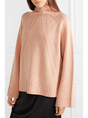 By Malene Birger aleyah oversized wool-blend turtleneck sweater