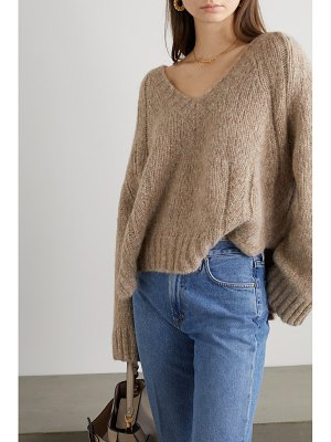 By Malene Birger net sustain evanna alpaca-blend sweater