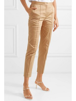 By Malene Birger santsi cotton-blend poplin tapered pants