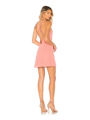by the way. Angela Scoop Front Mini Dress