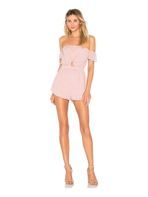 BY THE WAY. Aviana Off Shoulder Romper