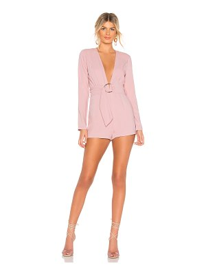 by the way. Brianna O Ring Belted Romper