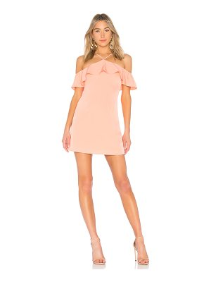 by the way. Callie Ruffle Mini Dress