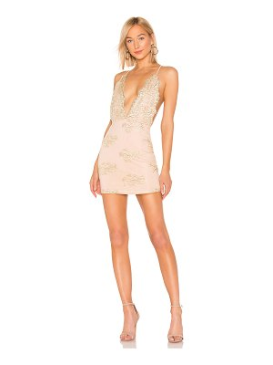 by the way. Gianna Deep V Mini Dress