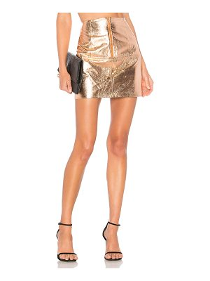 by the way. Jayda Metallic Skirt