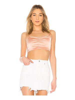 BY THE WAY. Josephine Bow Back Crop Top
