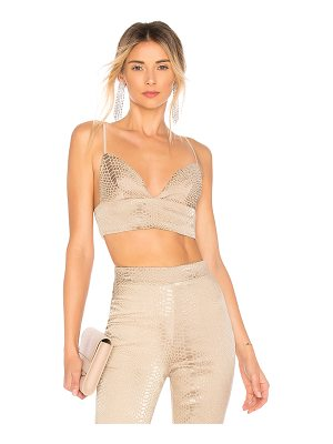by the way. Kimberly Snakeskin Crop Top