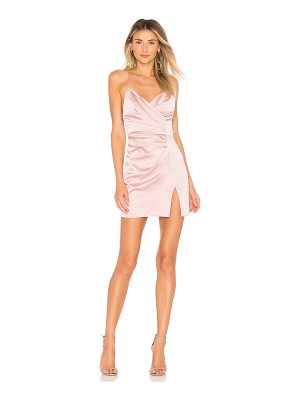 BY THE WAY. Kimora Satin Pleated Dress