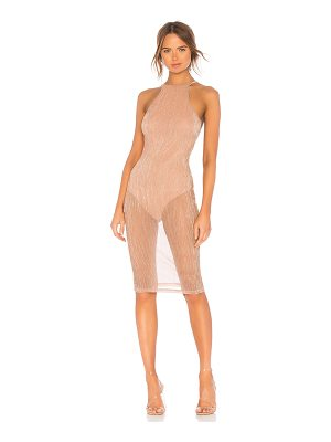 by the way. Madyson Mesh Halter Dress