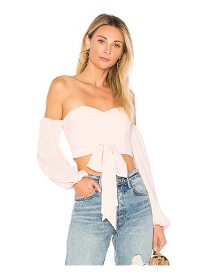 by the way. Maya Off Shoulder Crop Top