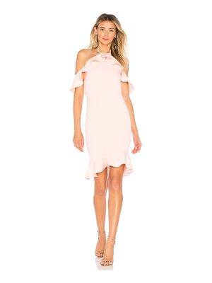 by the way. natalia ruffle halter dress