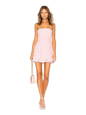 by the way. rosalie stripe ruffle dress