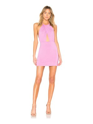 BY THE WAY. Rosie Halter Mini Dress