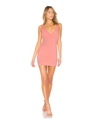 BY THE WAY. Roxy Tie Strap Mini Dress