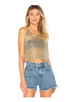 BY THE WAY. Savannah Metallic Knit Cami
