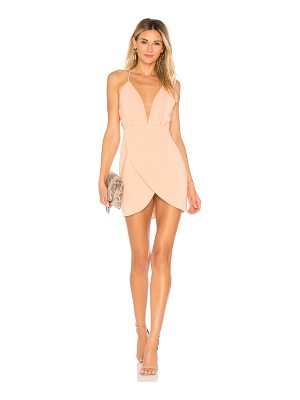 superdown vivian deep v dress