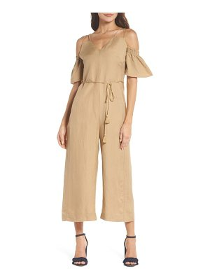 CAARA Cold Shoulder Jumpsuit